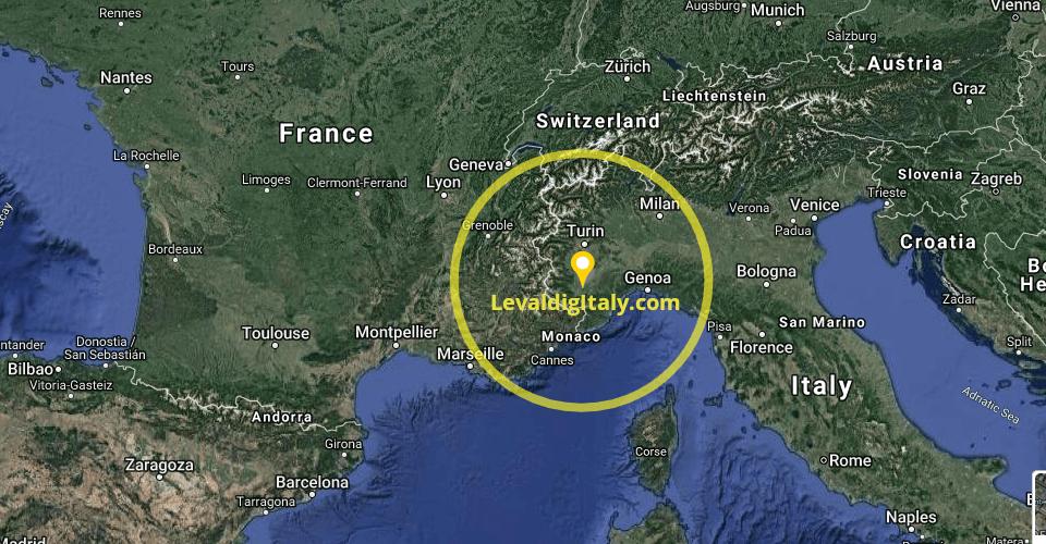 LevaldigItaly Location